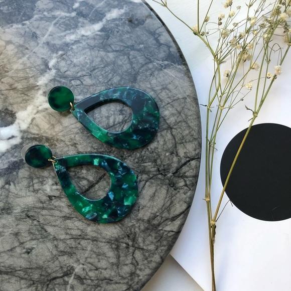 Jewelry - Resin Drop Earrings